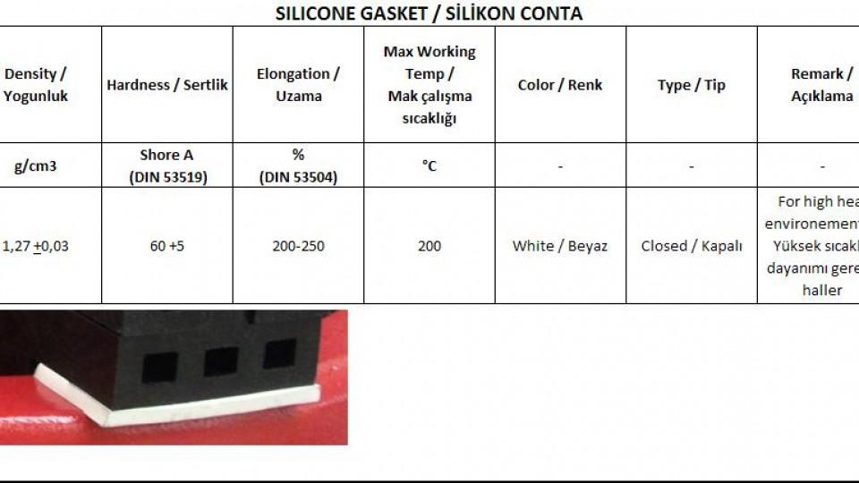 Silikon Gaskets